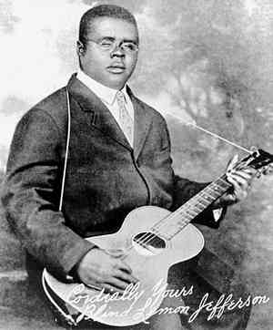 Birth of the Blues: Blind Lemon Jefferson