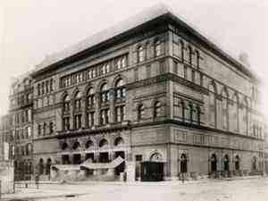 Birth of Classical Music: Carnegie Hall 1900
