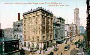 Birth of Classical Music: Metropolitan Opera House 1910