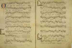 Birth of Classical Music: Manuscript by Compere