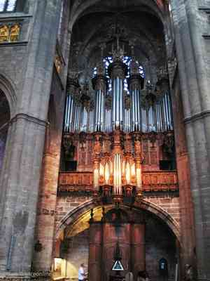 Birth of Classical Music: 14th Century Organ: Cathedral de Rodez