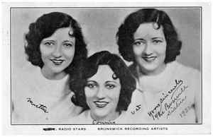 Birth of Swing Jazz: Boswell Sisters